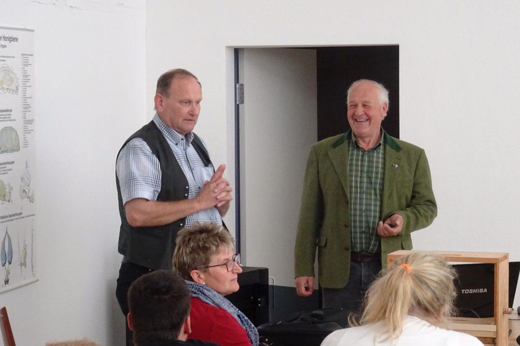 Josef Pichler und Matthias Fink